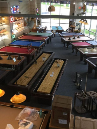 Pool Tables & Shuffleboards
